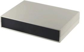 G750, Корпус для РЭА 245х175х50мм, пластик, светло-серый, черная панель
