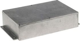 Фото 1/2 B011MF, Корпус для РЭА 222x146x55мм, металл, с крепежным фланцем