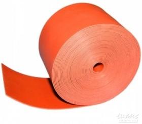 48-9004, Тeрмоусаживаемая лента с клеевым слоем 25 мм х 0,8 мм, красная, ролик 5 м, ТЛ-0,8