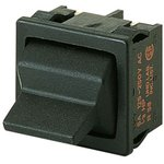01819.1302-01, Double Pole Double Throw (DPDT) Toggle Switch, (On)-Off -(On), IP40, Panel Mount