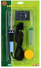 ZD-920A, Набор для пайки (паяльник 30Вт, держатель, припой,канифоль)