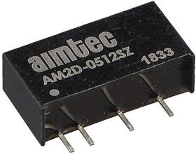 AM2D-1205SH52Z, DC/DC преобразователь, 2Вт, вход 10.8…13.2В, выход 5В/400мА