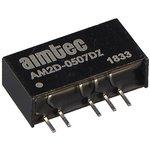 AM2D-0515DZ, DC/DC преобразователь, 2Вт, вход 4.5-5.5В, выход 15,-15В/0.067A