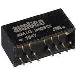 AM1G-2405SZ, DC/DC преобразователь, 1Вт, вход 18-36В, выход 5В/0.2A