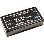 3D250-12S12, DC/DC преобразователь, 3Вт, вход 9-18B ...