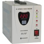 VR-N1000VA, Стабилизатор напряжения релейный, 220В, 1000ВА