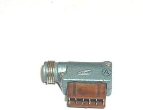 РШ2Н-1-24, Вилка кабельная угловая (ответная часть РГ1Н-1-4)