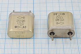 кварцевый резонатор 10.7МГц с большим кристаллом в металлическом корпусе БА=HC6U, 10700 \HC6U\\\\РГ08БА\1Г