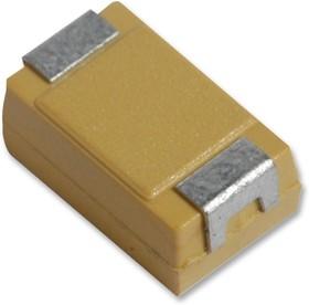 Фото 1/5 TCJC226M025R0100, Танталовый полимерный конденсатор, 22 мкФ, 25 В, Серия TCJ, ± 20%, C, 0.1 Ом
