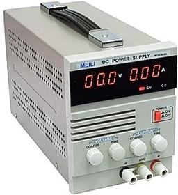 MCH-303A, Источник питания, 0-30V-3A