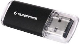 Флешка USB SILICON POWER Ultima II-I Series 4Гб, USB2.0, черный [sp004gbuf2m01v1k]