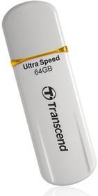Флешка USB TRANSCEND Jetflash JF620 64Гб, USB2.0, белый [ts64gjf620]