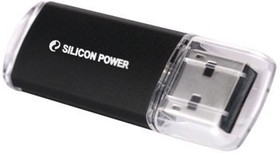 Флешка USB SILICON POWER Ultima II-I Series 32Гб, USB2.0, черный [sp032gbuf2m01v1k]