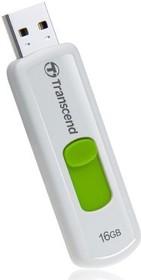 Флешка USB TRANSCEND Jetflash 530 16Гб, USB2.0, зеленый [ts16gjf530]