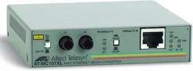 Медиаконвертер Allied Telesis AT-MC101XL-60 100TX RJ-45 to 100FX ST Fast Ethernet