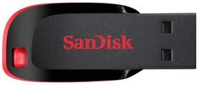 Флешка USB SANDISK Cruzer Blade 16Гб, USB2.0, черный [sdcz50-016g-b35]