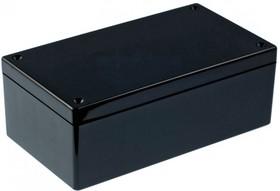 Фото 1/4 G1098B, Корпус для РЭА 135х75х50мм, пластик, черный