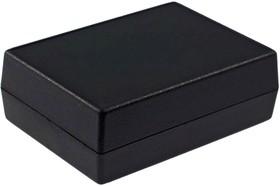 Фото 1/3 G1202B, Корпус для РЭА 111х82.5х38мм, пластик, черный