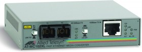 Медиаконвертер Allied Telesis AT-MC102XL-60 100TX RJ-45 to 100FX SC Fast Ethernet
