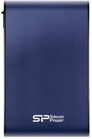 Внешний жесткий диск SILICON POWER Armor A80 SP010TBPHDA80S3B, 1Тб, синий