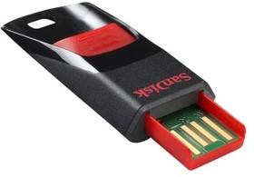 Флешка USB SANDISK Cruzer Edge 16Гб, USB2.0, черный и красный [sdcz51-016g-b35]