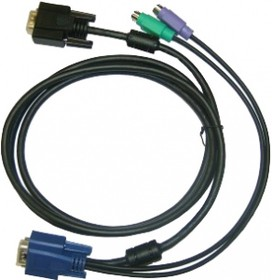 DKVM-IPCB, All in one SPHD KVM Cable in 1.8m (6ft) for DKVM-IP1/IP devices