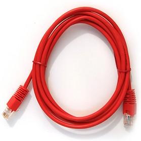 Патч-корд литой (molded), cat.5E, 2м, 1 шт, красный