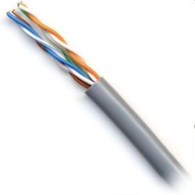 Кабель сетевой HQ High Speed UTP, cat.5E, 305м, 4 пары, 24AWG, 0.51мм, медь, одножильный (solid), 1 шт