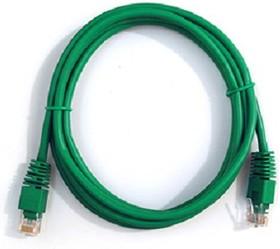 Патч-корд литой (molded), cat.5E, 0.5м, 1 шт, зеленый