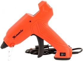 Фото 1/3 93006, Клеевой пистолет, 11 мм, 30 (160) Вт, 18 г/мин, выключатель и индикатор напряжения