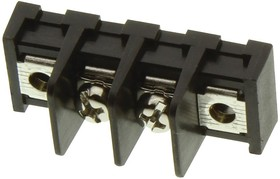Фото 1/2 MC001350, TERMINAL BLOCK, BARRIER, 2POS, 14AWG