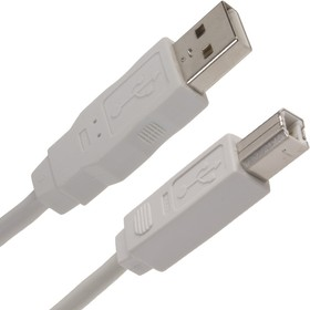 Фото 1/3 18-1104-1, Шнур штекер USB,А(male) - В(male) 1.8M