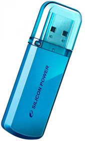 Фото 1/2 Флешка USB SILICON POWER Helios 101 16Гб, USB2.0, синий [sp016gbuf2101v1b]