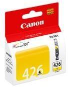 Картридж CANON CLI-426Y желтый [4559b001]