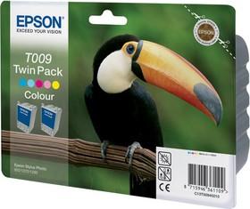 Двойная упаковка картриджей EPSON C13T009402 многоцветный [c13t00940210]