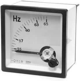 88617, Частотомер 45-55Гц 220В (72х72)