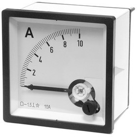 Амперметр 10А (72х72)