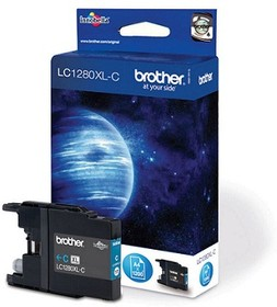 Картридж BROTHER LC1280XLC голубой