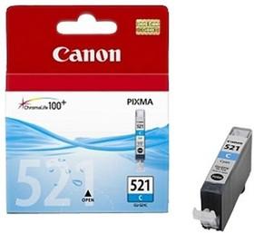 Картридж CANON CLI-521C 2934B004, голубой