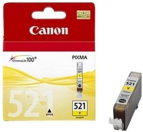 Картридж CANON CLI-521Y 2936B004, желтый
