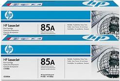 Двойная упаковка картриджей HP 85A CE285AF, черный