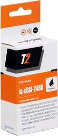 Картридж T2 BCI-24BK IC-CBCI-24BK, черный