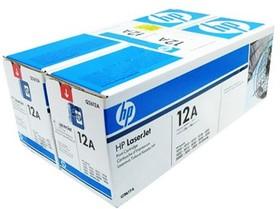 Двойная упаковка картриджей HP Q2612AF черный