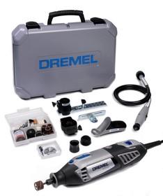 Фото 1/6 Dremel-4000 (4/65), 65 насадок, Инструмент многофункциональный 175Вт, 5000 - 35000 об./мин