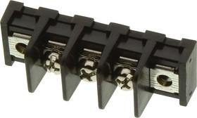 MC001351, Клеммная колодка с перегородкой в панель, 1 Ряд, 3 вывод(-ов), 22 AWG, 14 AWG, 9.5 мм, 20 А