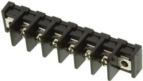 Фото 1/2 MC001354, Клеммная колодка с перегородкой в панель, 1 Ряд, 6 вывод(-ов), 22 AWG, 14 AWG, 9.5 мм, 20 А