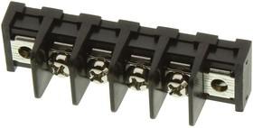 Фото 1/2 MC001352, Клеммная колодка с перегородкой в панель, 1 Ряд, 4 вывод(-ов), 22 AWG, 14 AWG, 9.5 мм, 20 А