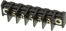Фото 1/2 MC001353, Клеммная колодка с перегородкой в панель, 1 Ряд, 5 вывод(-ов), 22 AWG, 14 AWG, 9.5 мм, 20 А