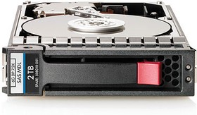 Фото 1/2 Жесткий диск HP P2000 3TB 6G SAS 7.2K 3.5 in MDL HDD (QK703A)