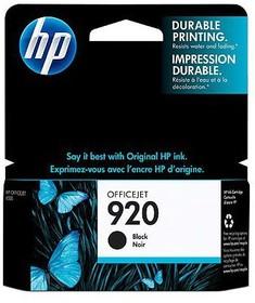 Картридж HP №920 CD971AE, черный